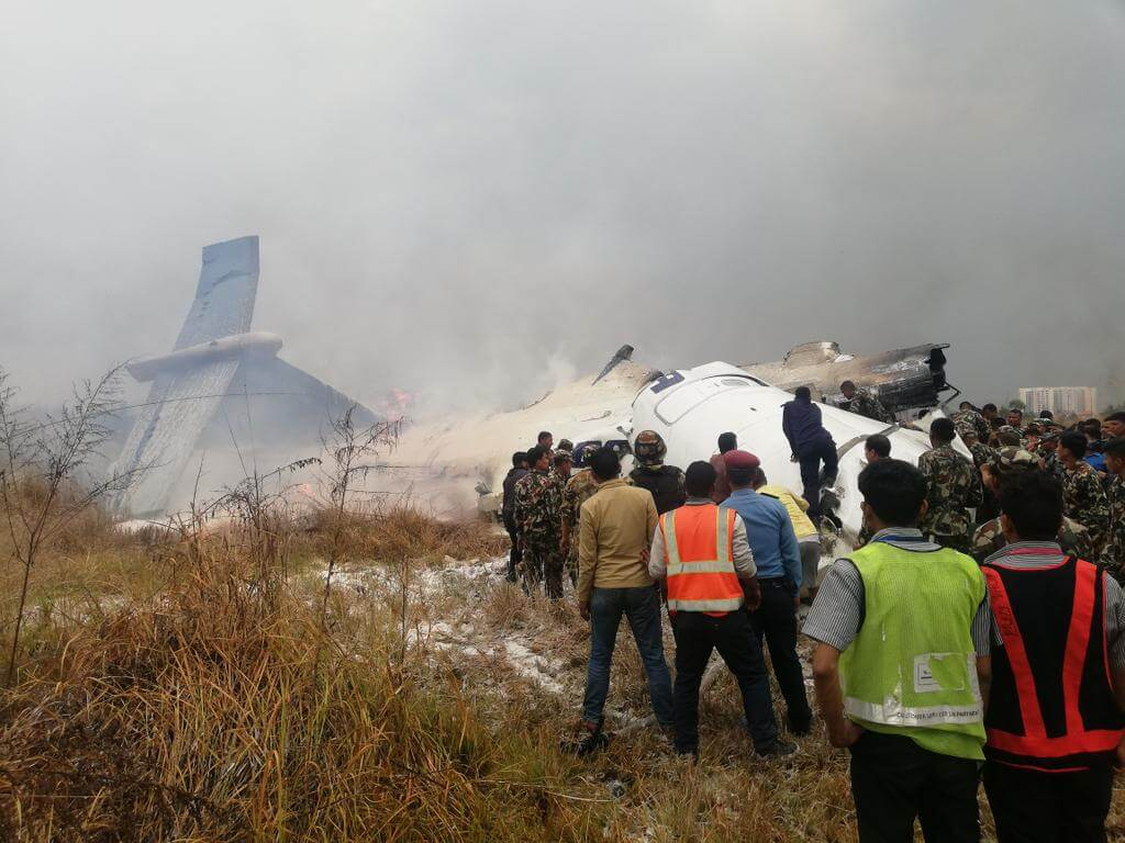 Bangla plane crash in Nepal: One-day state mourning being observed