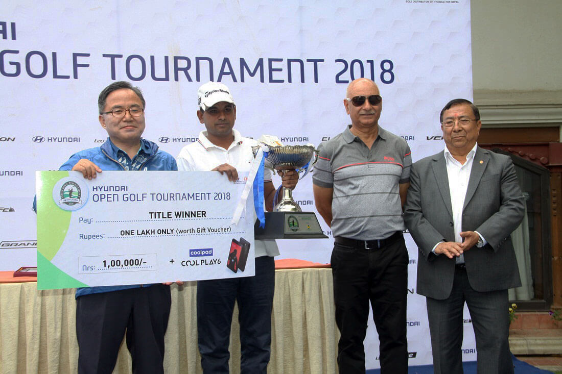 Winners of Hyundai Open Golf 2018