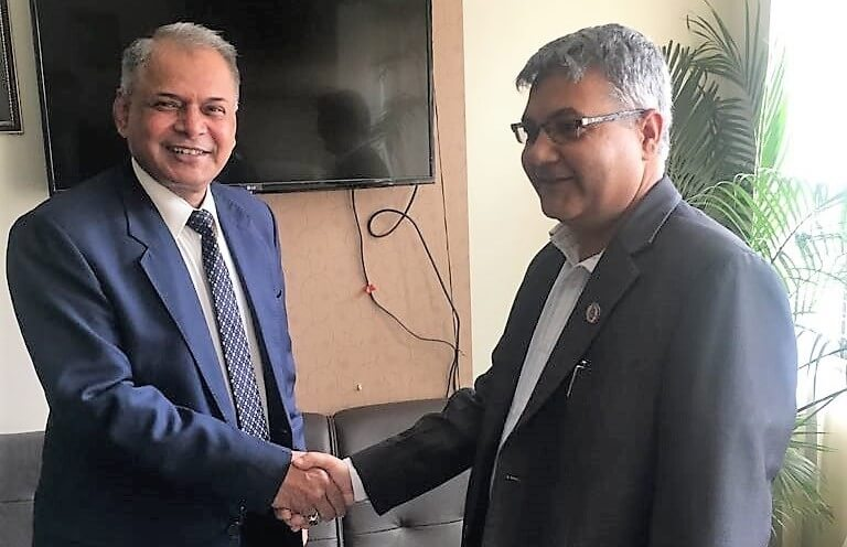 SAARC Secretary general calls on state minister for communication