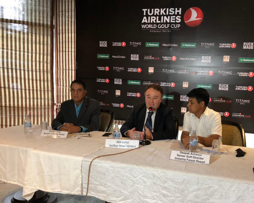 Teeing off: Turkish Airlines World Golf Cup in Gokarna