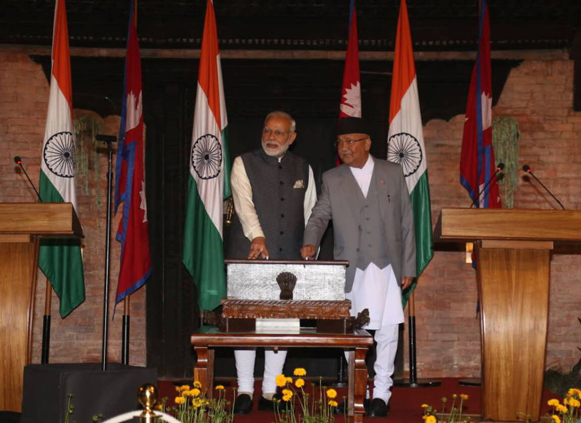 Oli-Modi launch Arun III