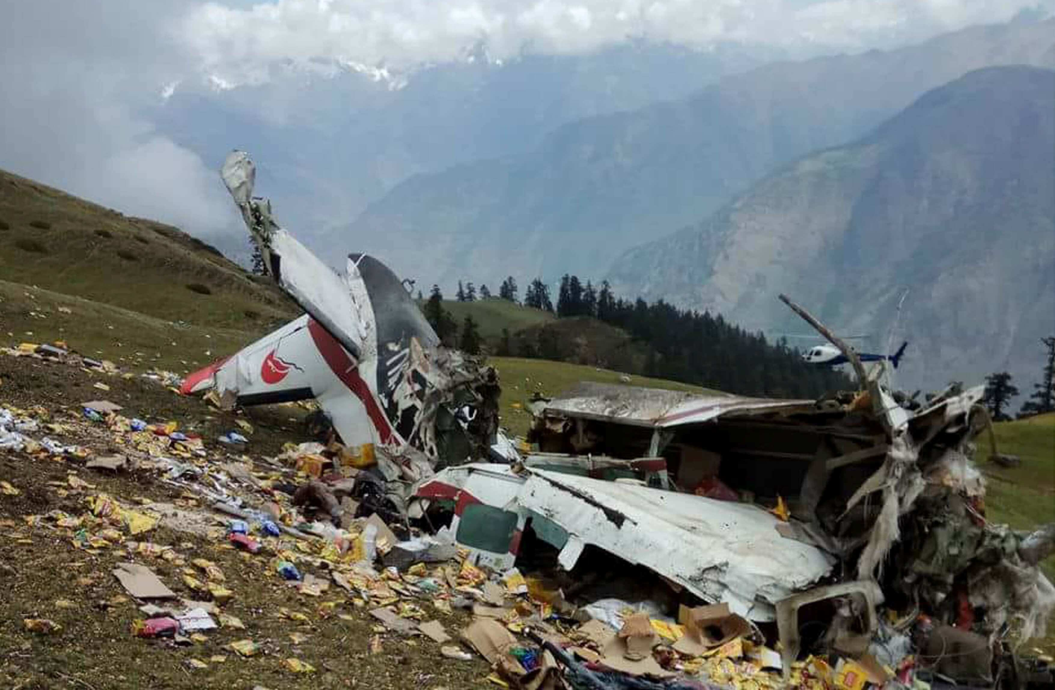 Makalu crash site