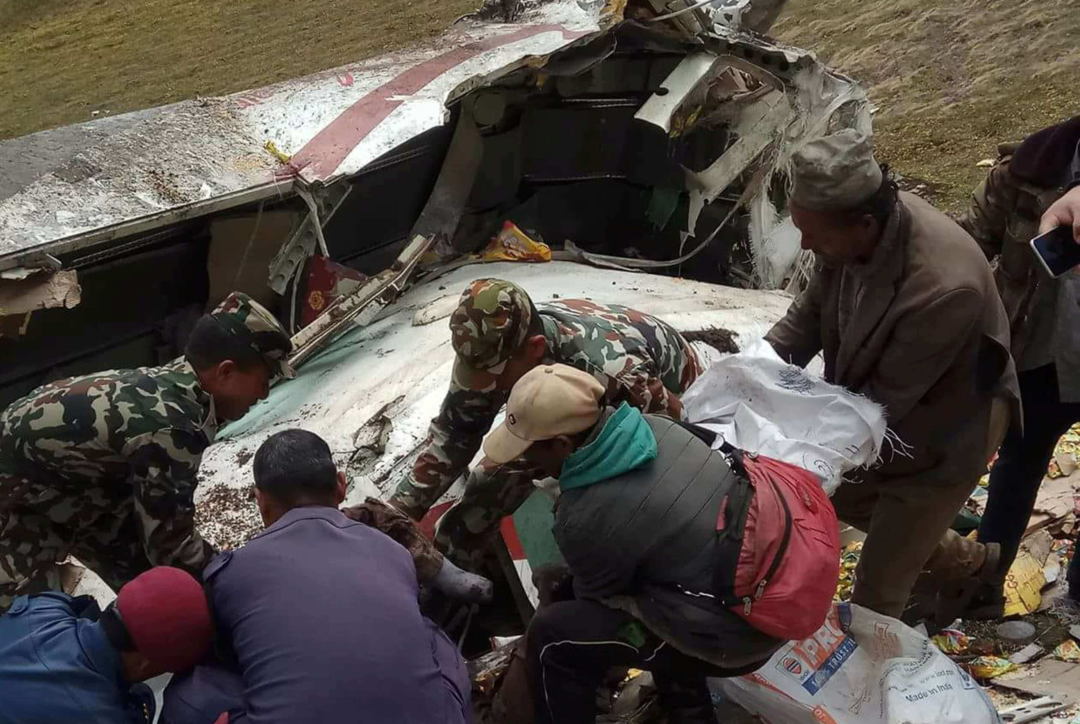 Makalu crash