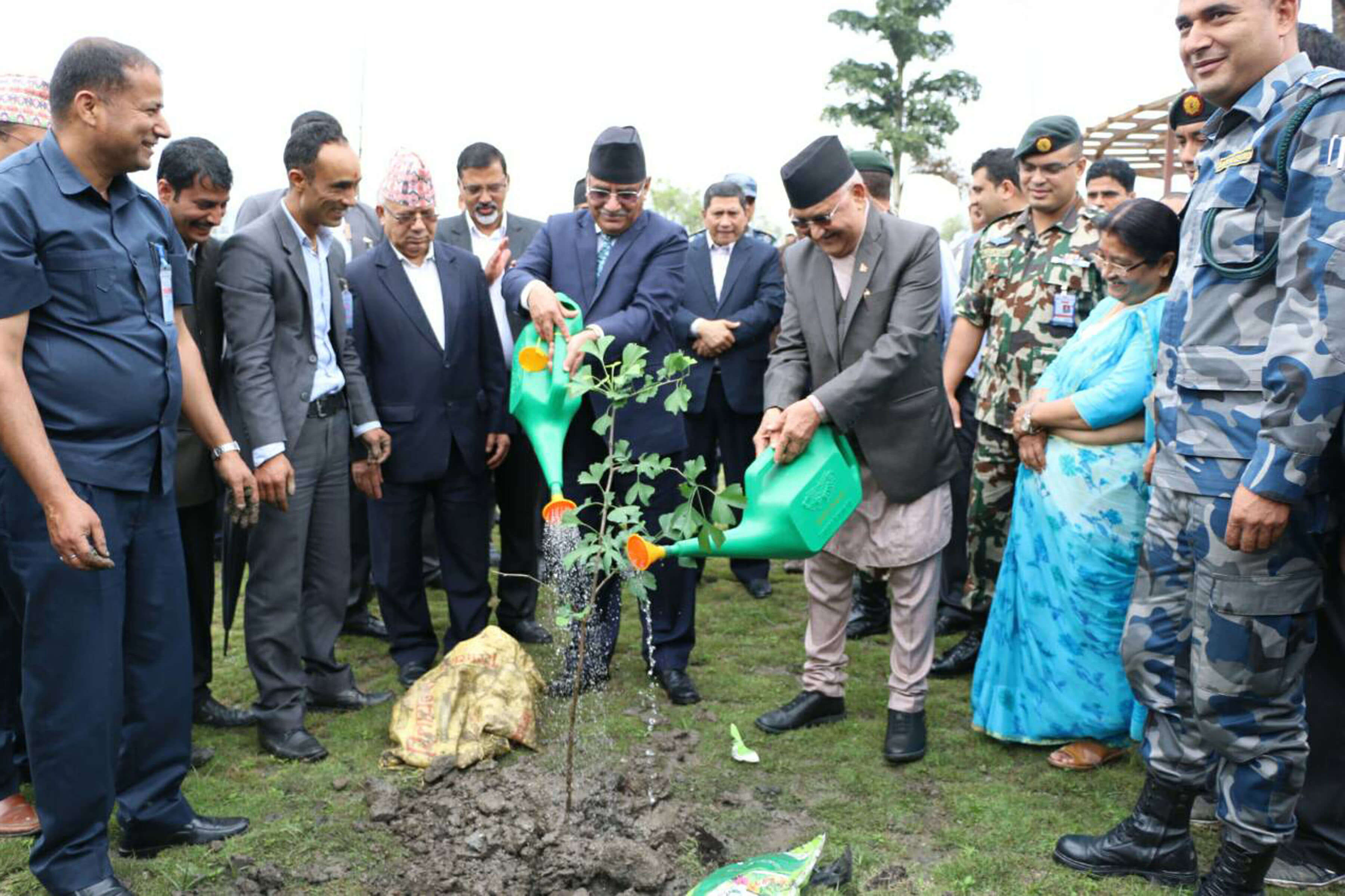 Tree planting to mark Madan Bhandari death anniversary