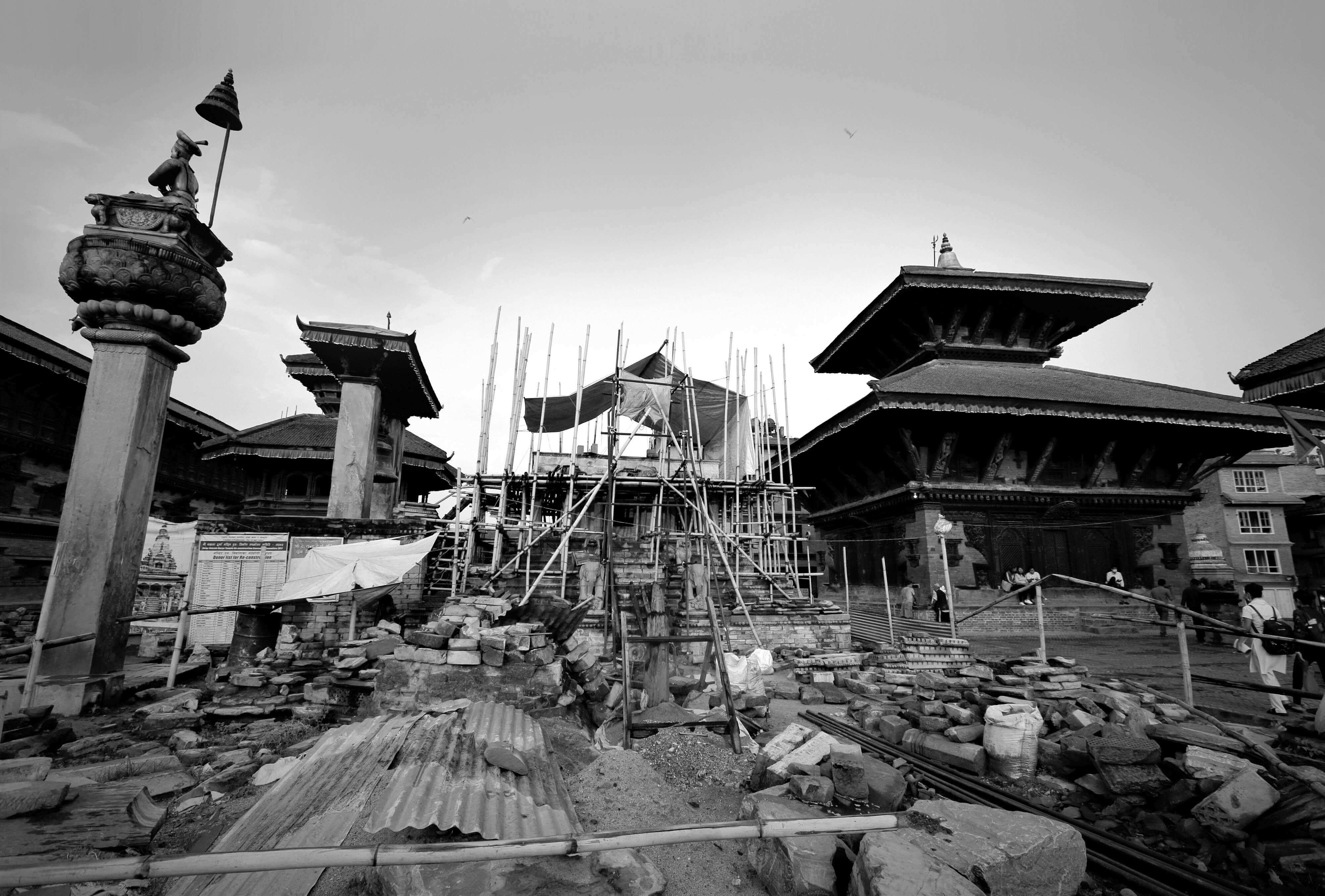 Clash of cultures in Bhaktapur