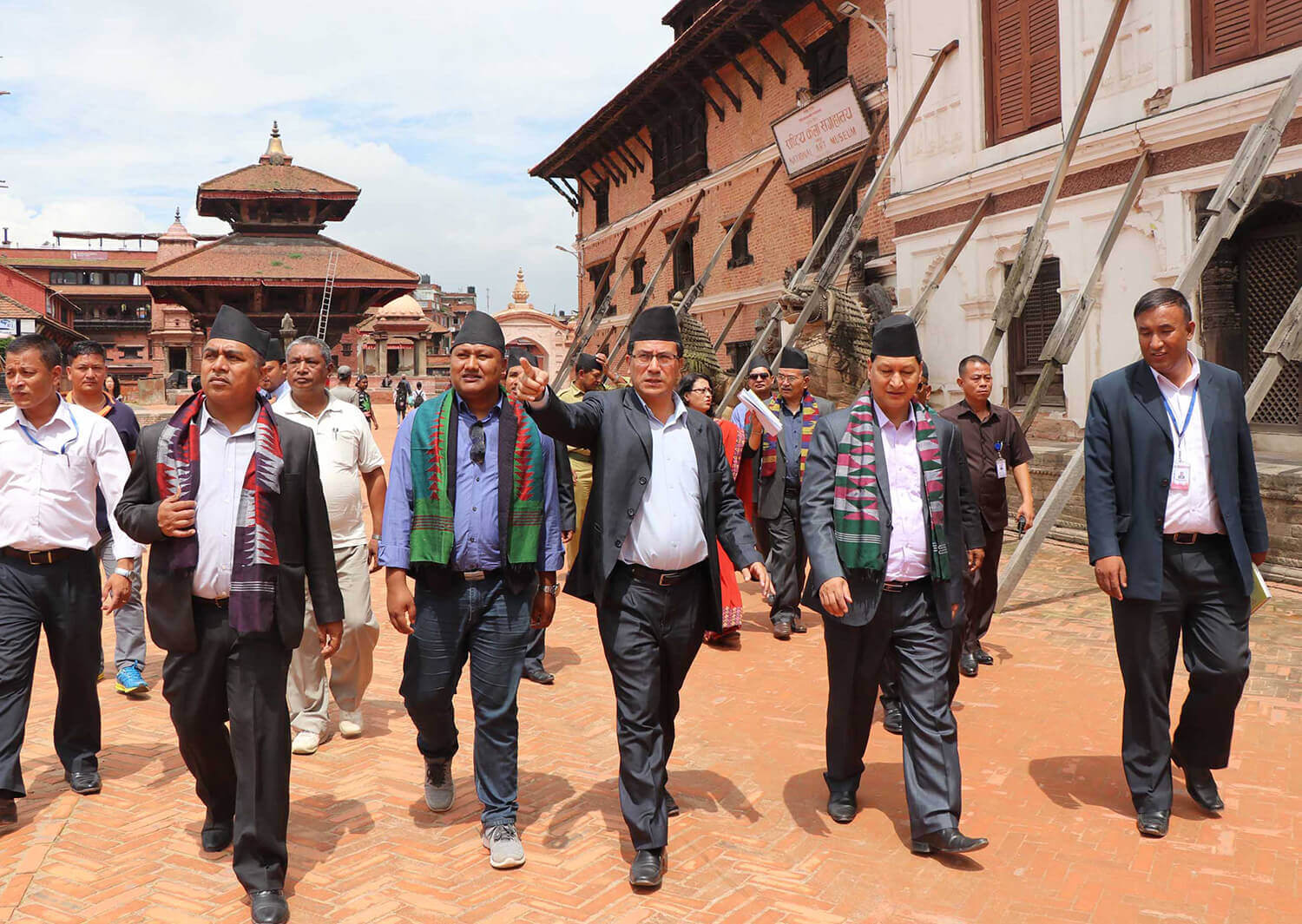 Bhaktapur reconstruction observation