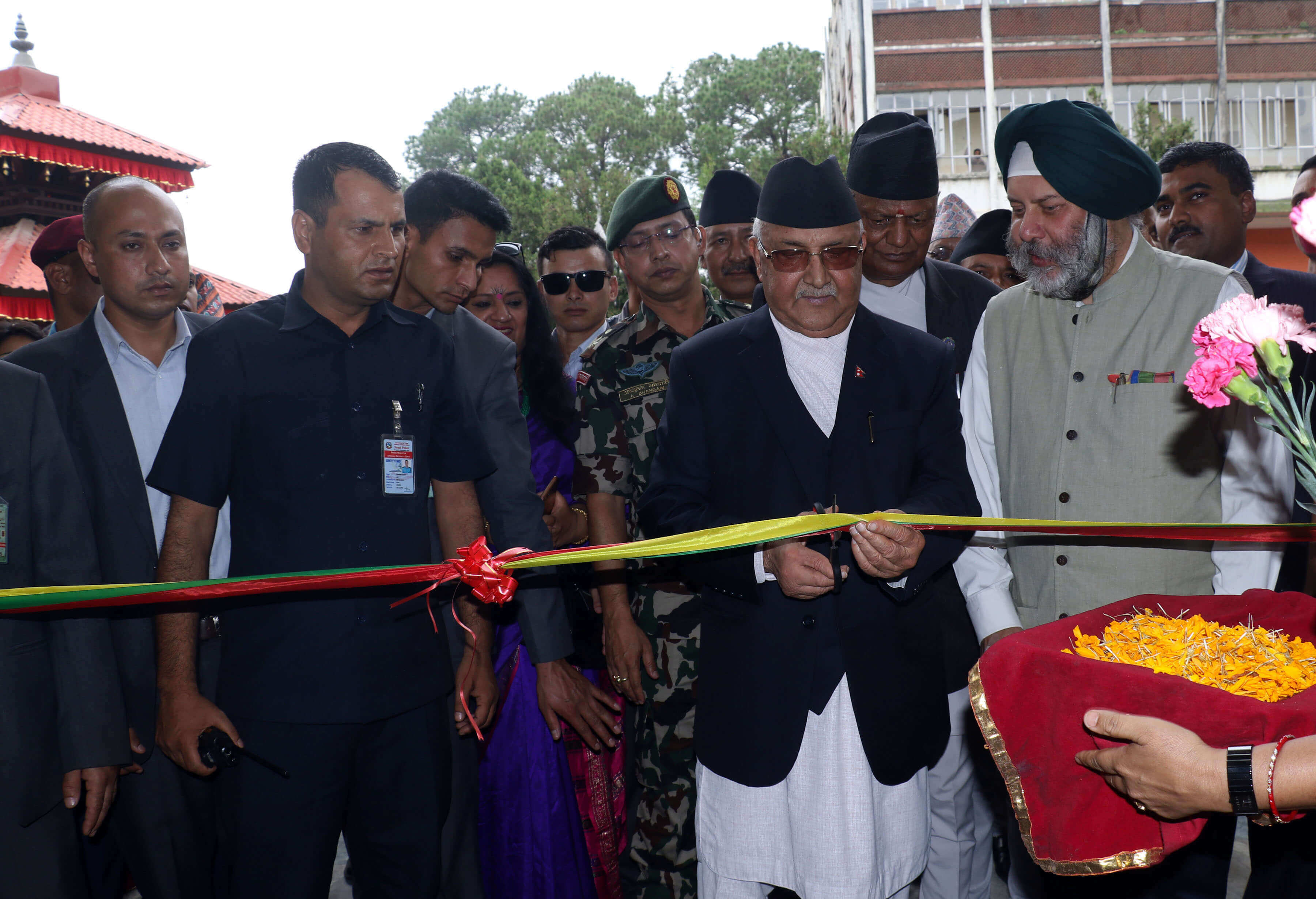 Oli inaugurates modern printing press
