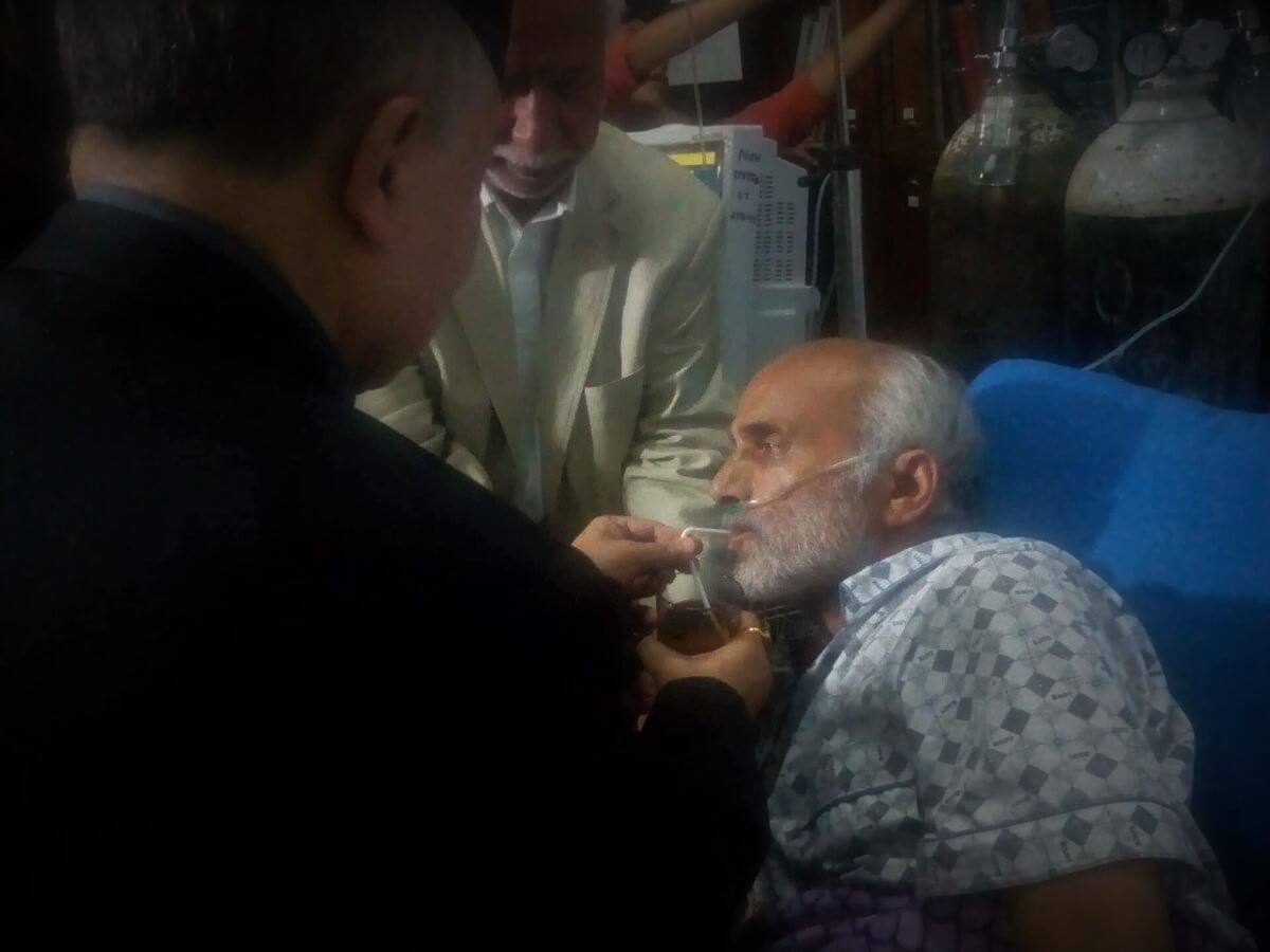 Dr. KC breaks his fast