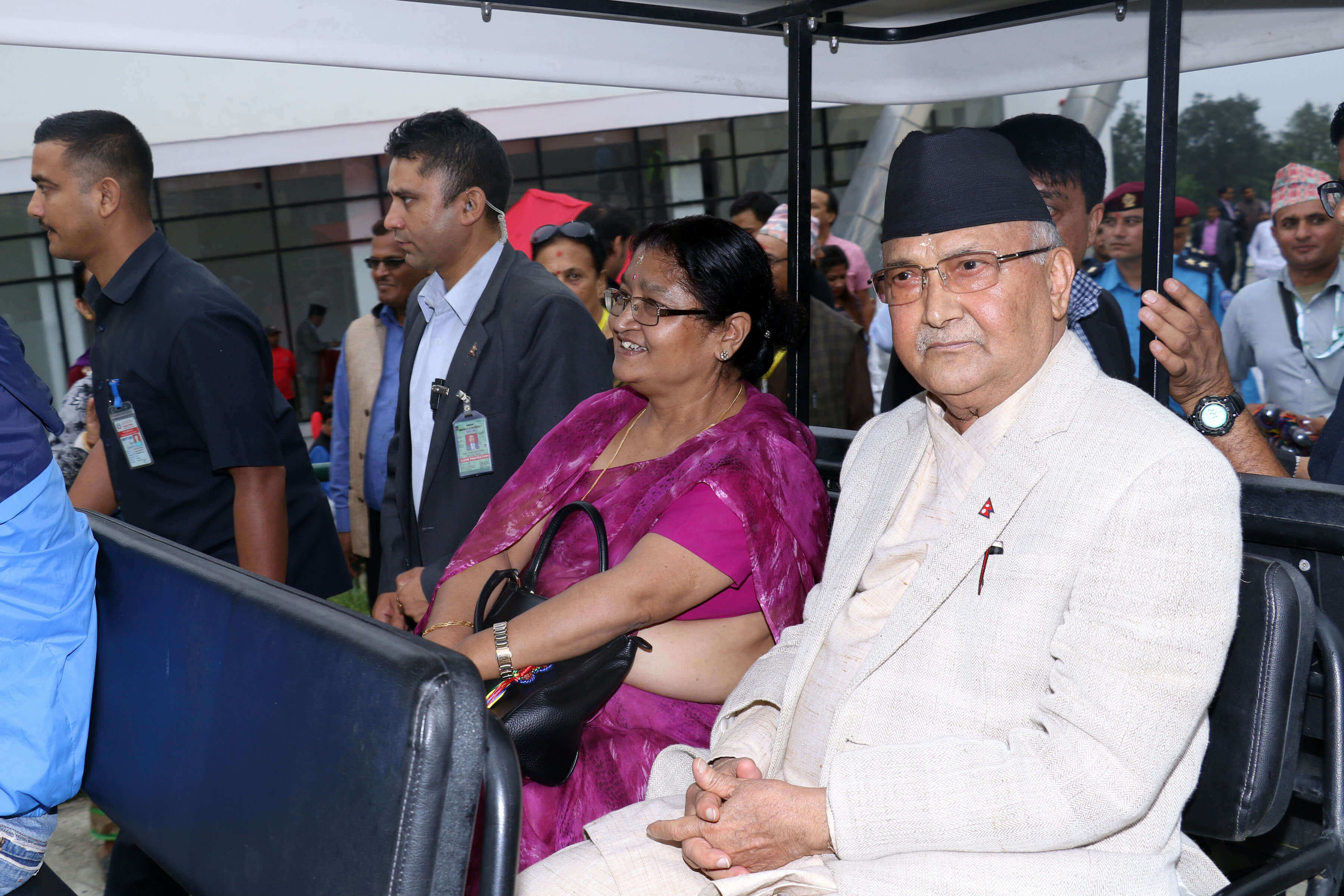 KP Oli to Chandragiri