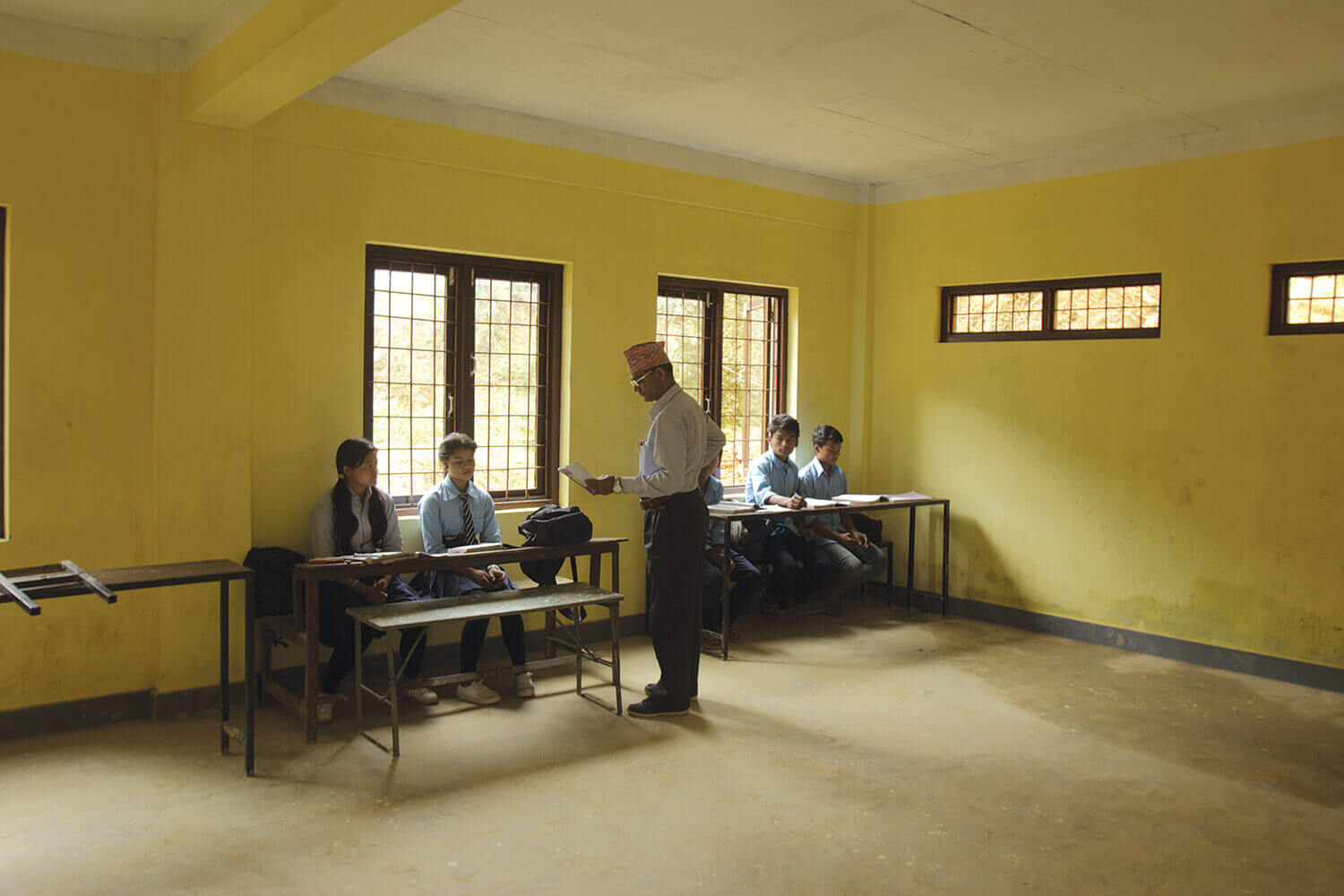 Quake was a learning experience for Nepal's schools