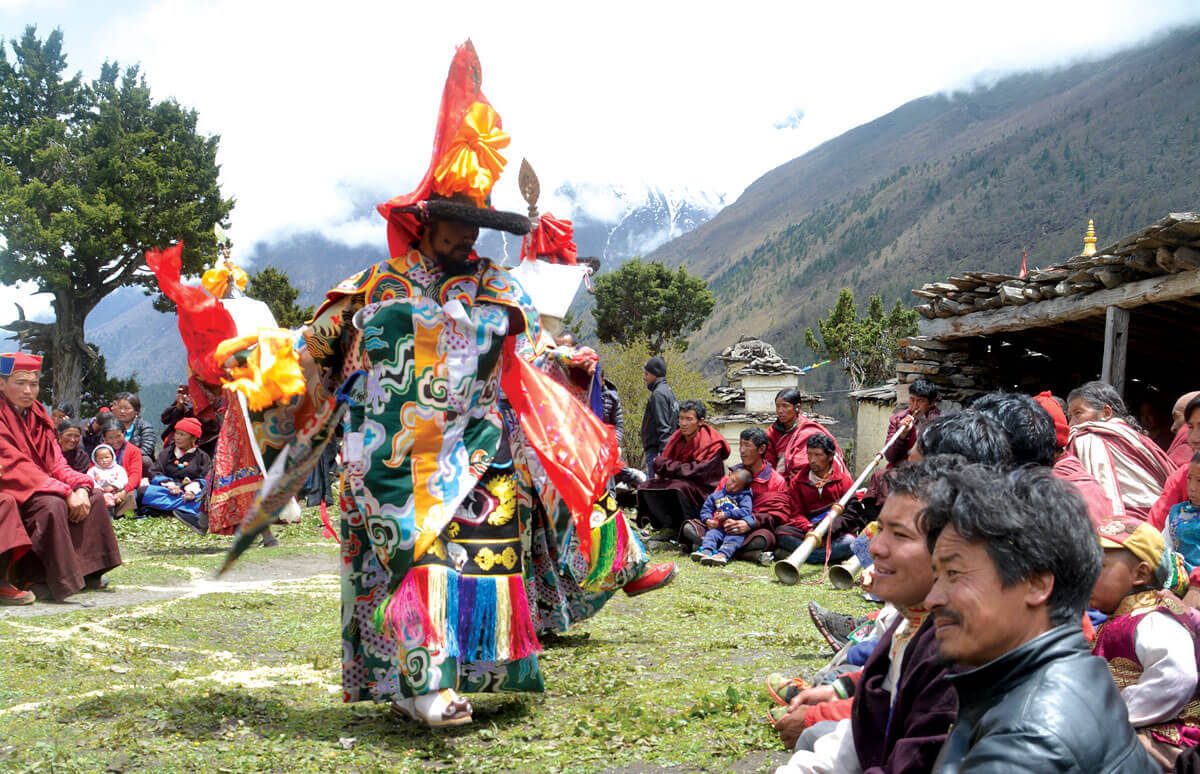 Tibetan music in Nepal's sacred valley