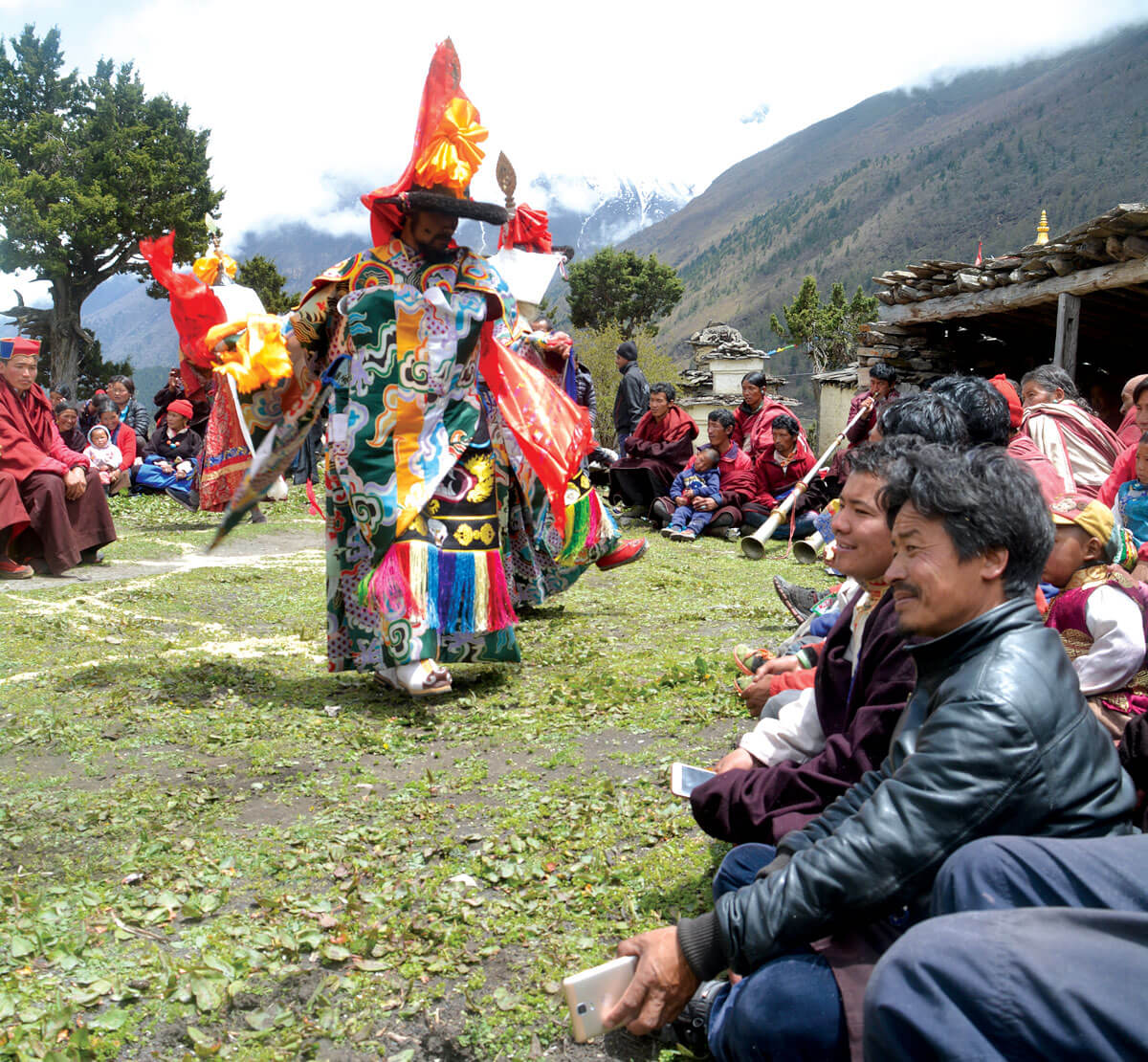 Nepali Times | Tibetan music in Nepal's sacred valley