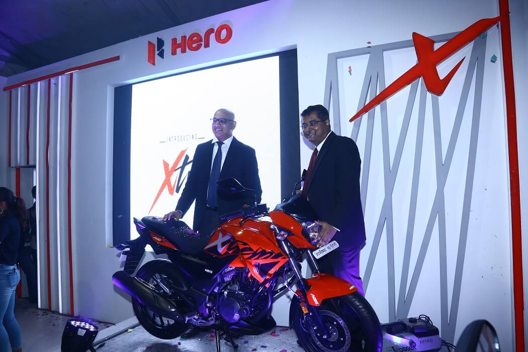 Hero launches its new premium motorbike