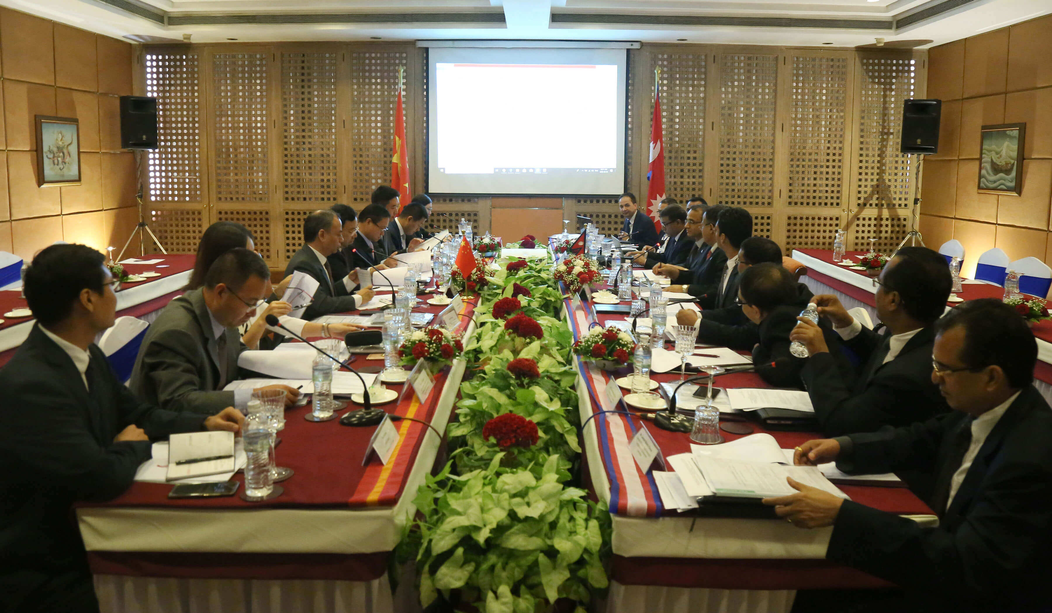 Meeting to final protocol of trade and transit agreement