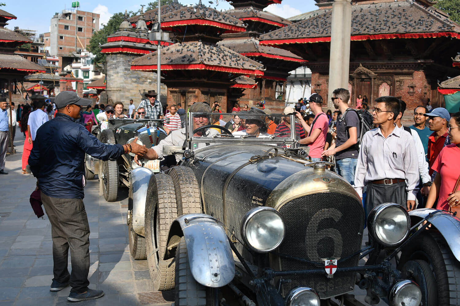 Bentleys in Basantapur