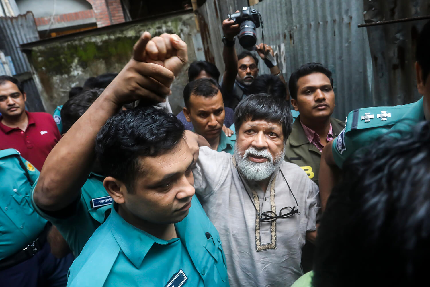 Shahidul Alam 100th day in jail