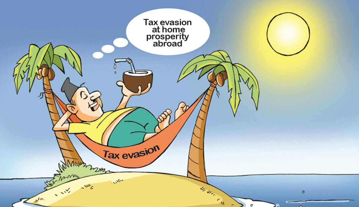 Nepalis in tax havens, Swiss banks, money laundering