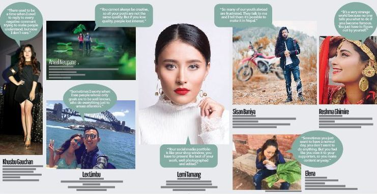 The new reality of Nepal's virtual celebrities
