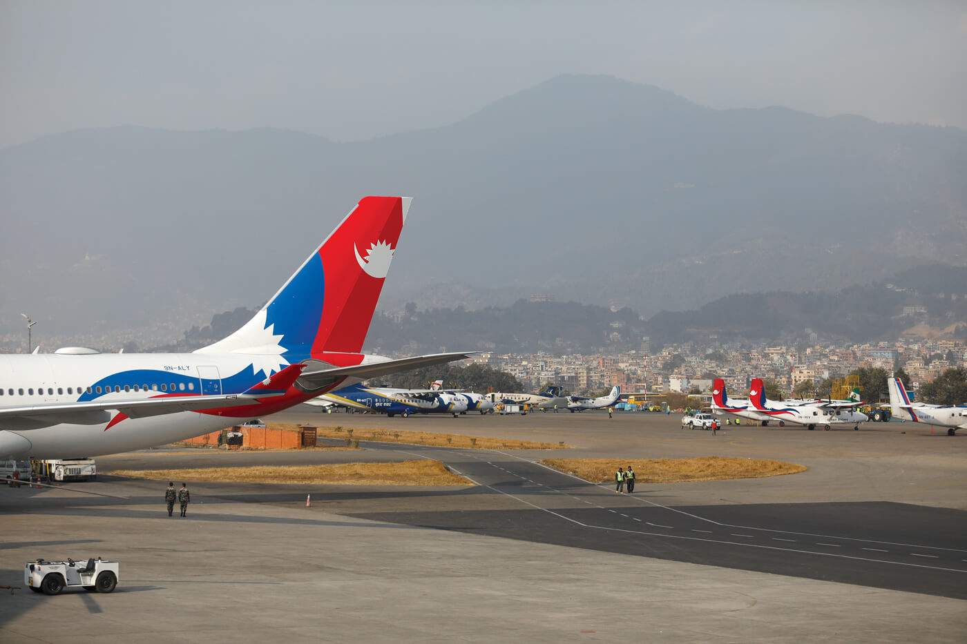 Keeping Nepal Airlines airworthy