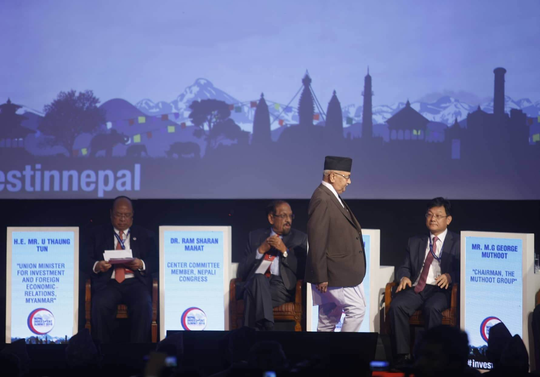 Nepal has to curb corruption before wooing investors