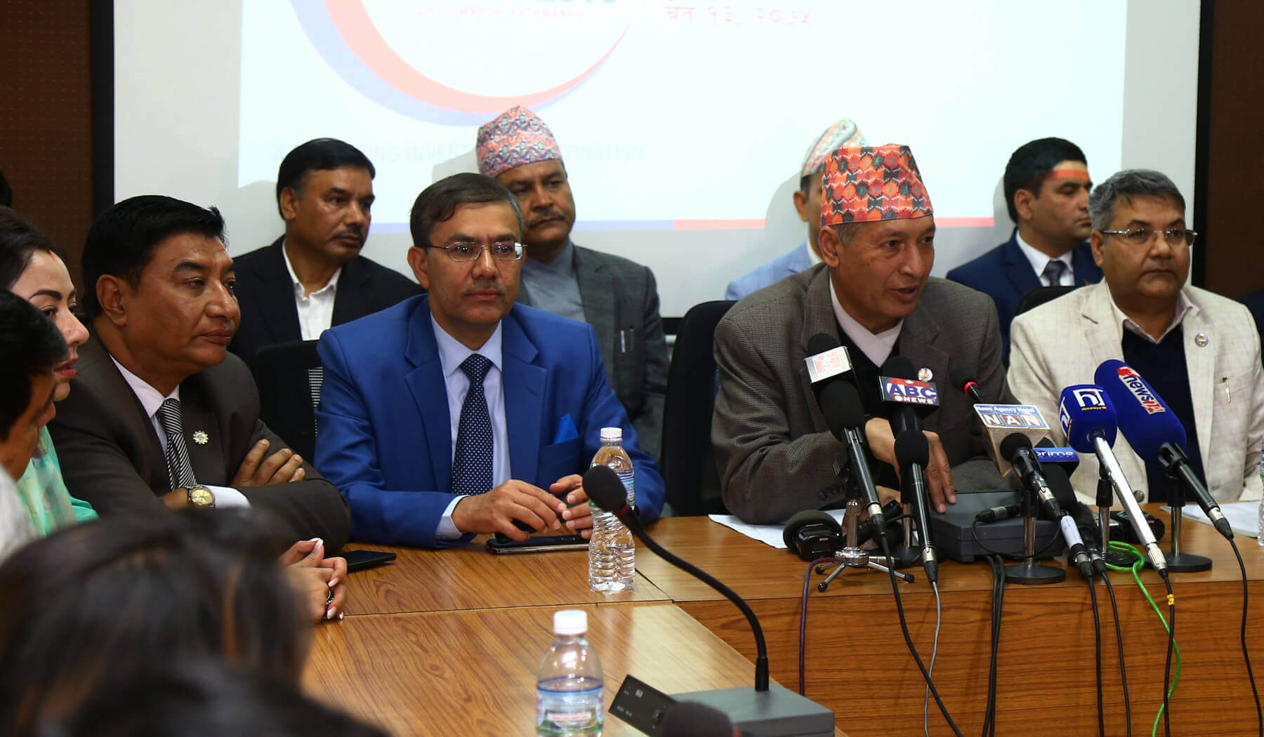 Finance Minister before Nepal Investment Summit