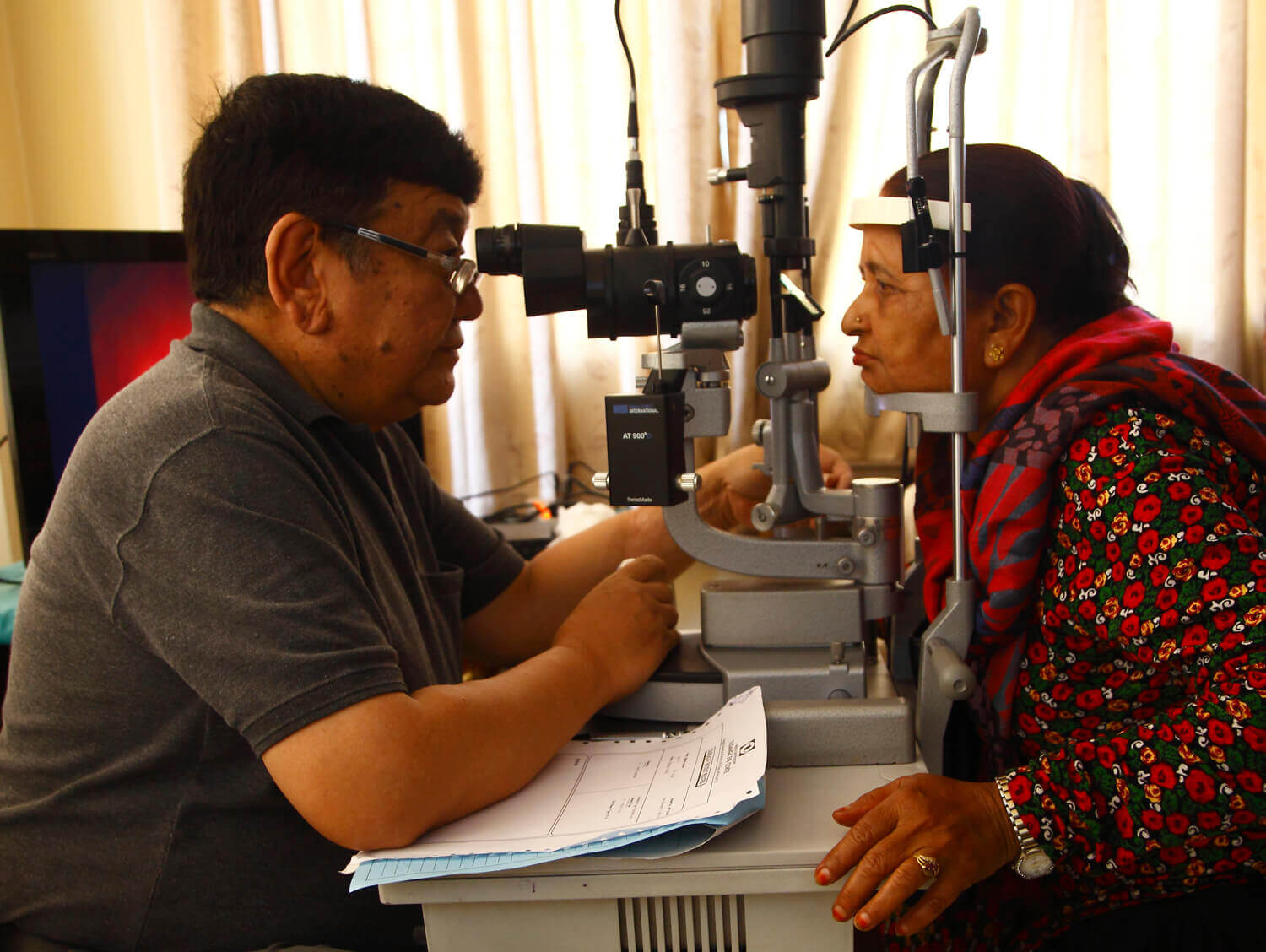 Nepal's far-sighted eye care