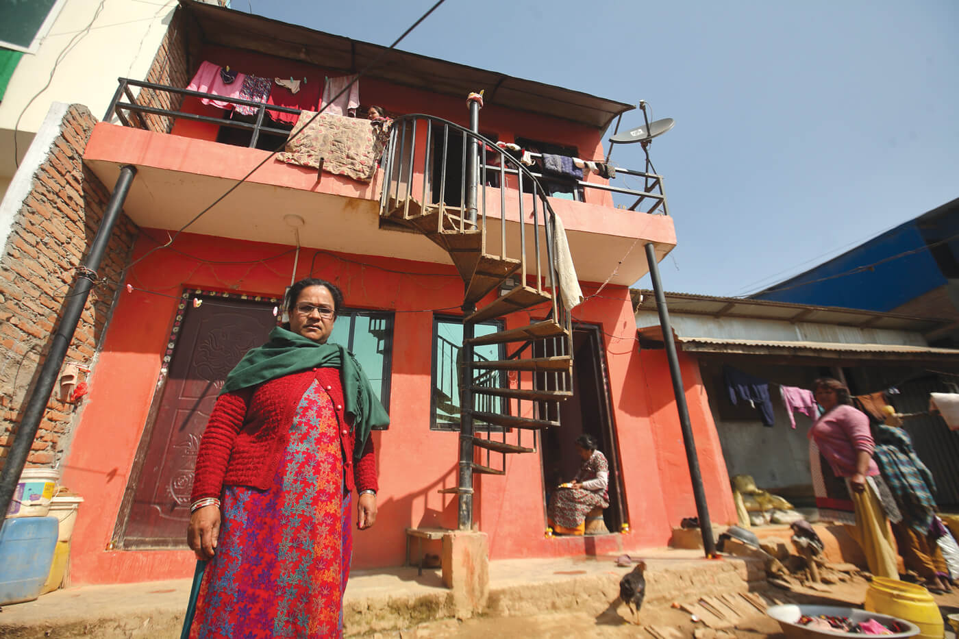 A house for the Nepali family