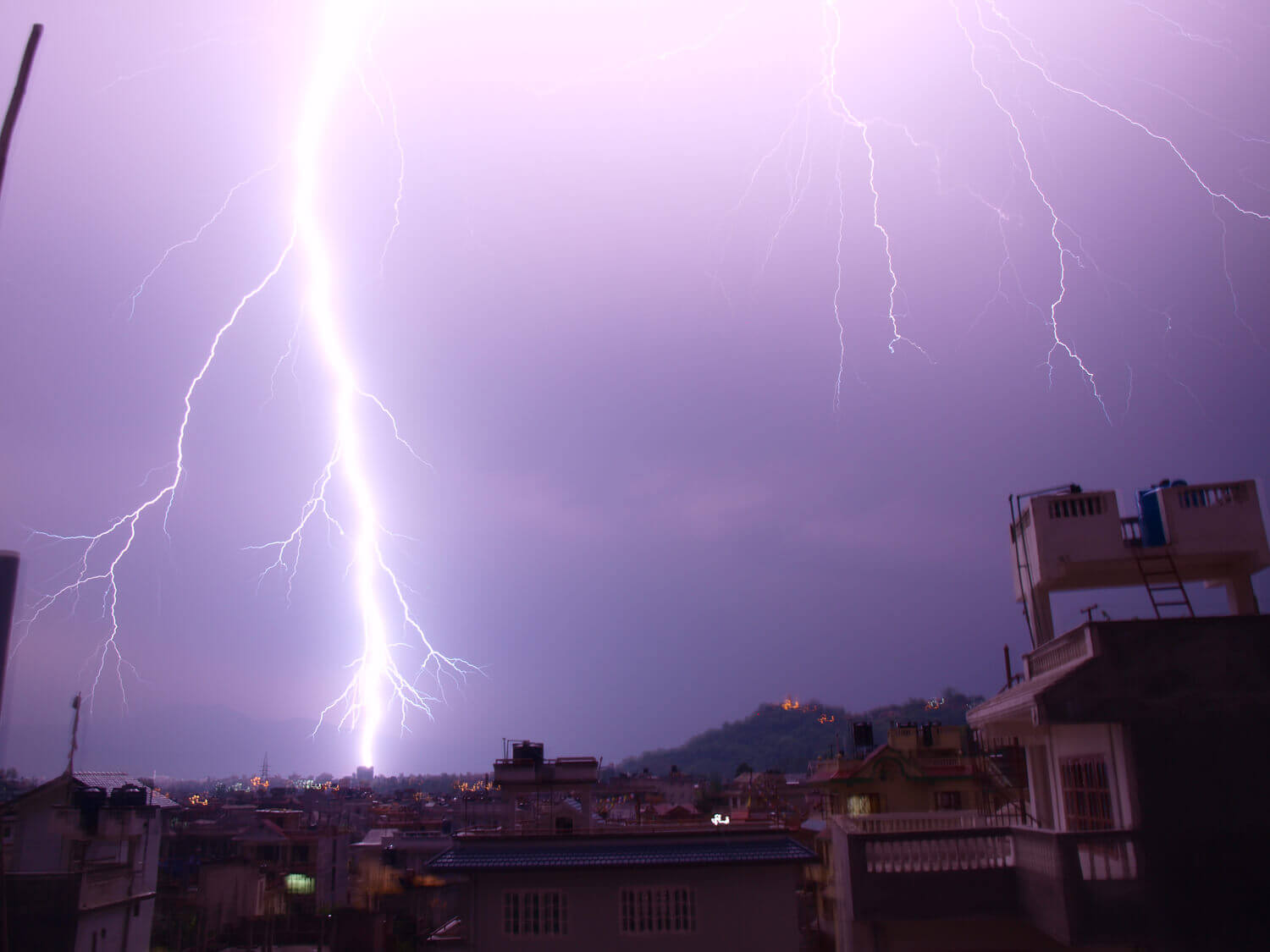 Lightning kills more people than floods in Nepal