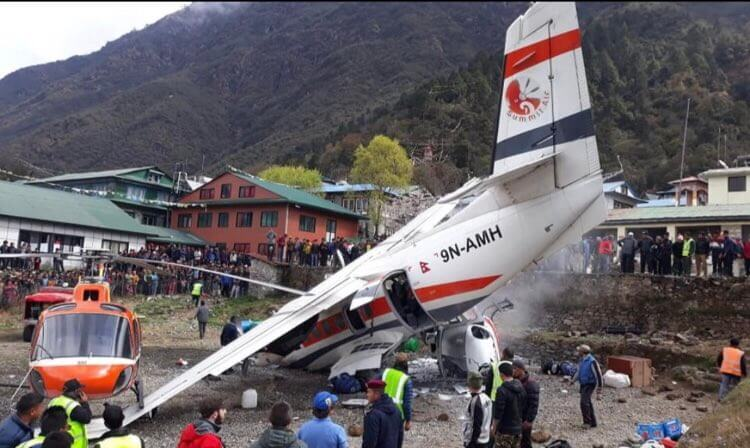 Lukla plane-chopper collision kills 3