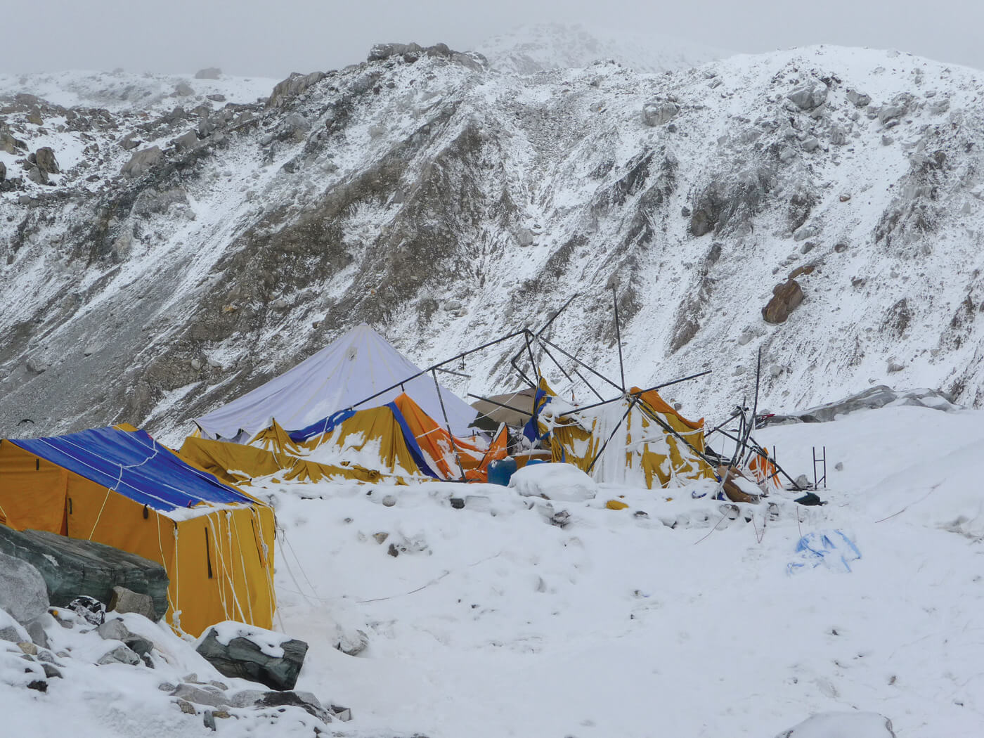 On Everest 4 years after the Nepal Earthquake