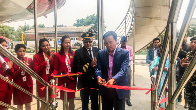 Inauguration of a photo exhibition in the memory of late Tourism Minister Rabindra Adhikari, who passed away in a helicopter crash earlier this year. The exhibition started on Wenesday at the Aviation Museum in Sinamangal.