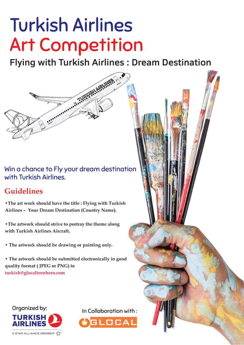 Turkish Airlines school art competition