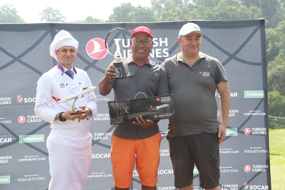 Sherpa wins Turkish Airlines Golf Cup