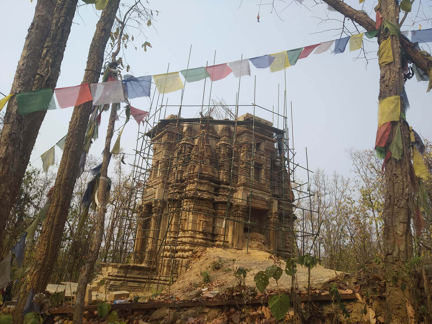 Buddhist relics in western Nepal