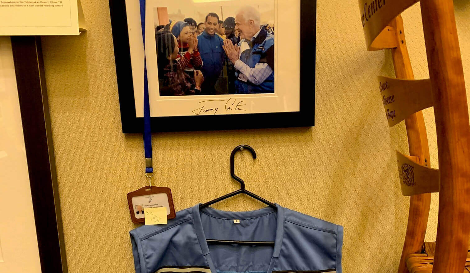 Jimmy Carter's Nepal vest auctioned for $10,000
