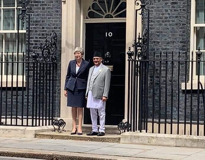 PM with Theresa May