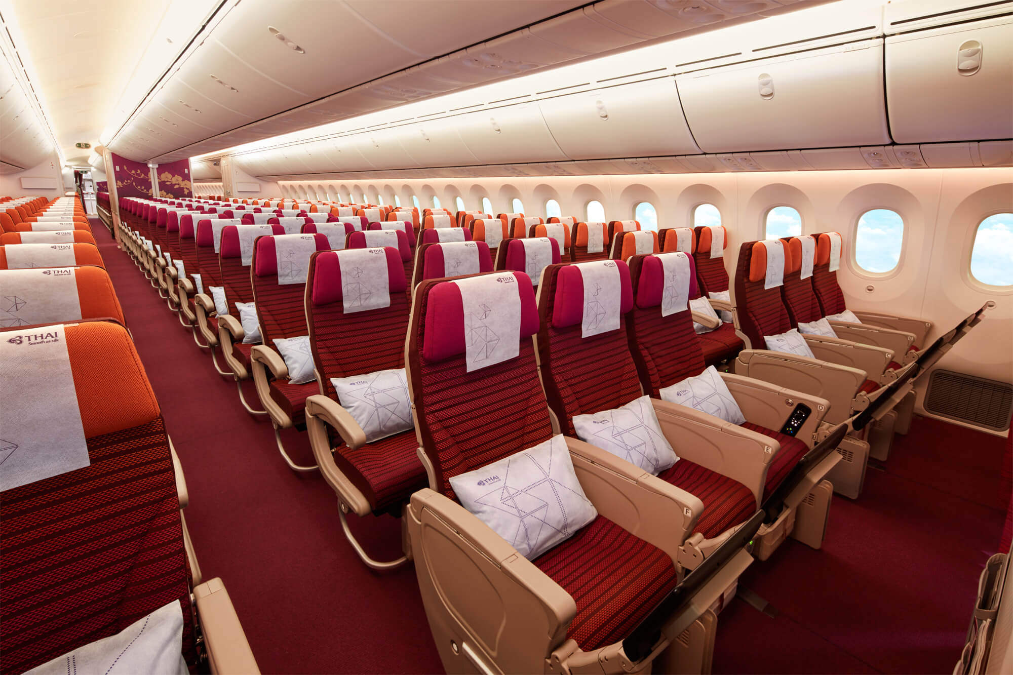 Seat selection by Thai