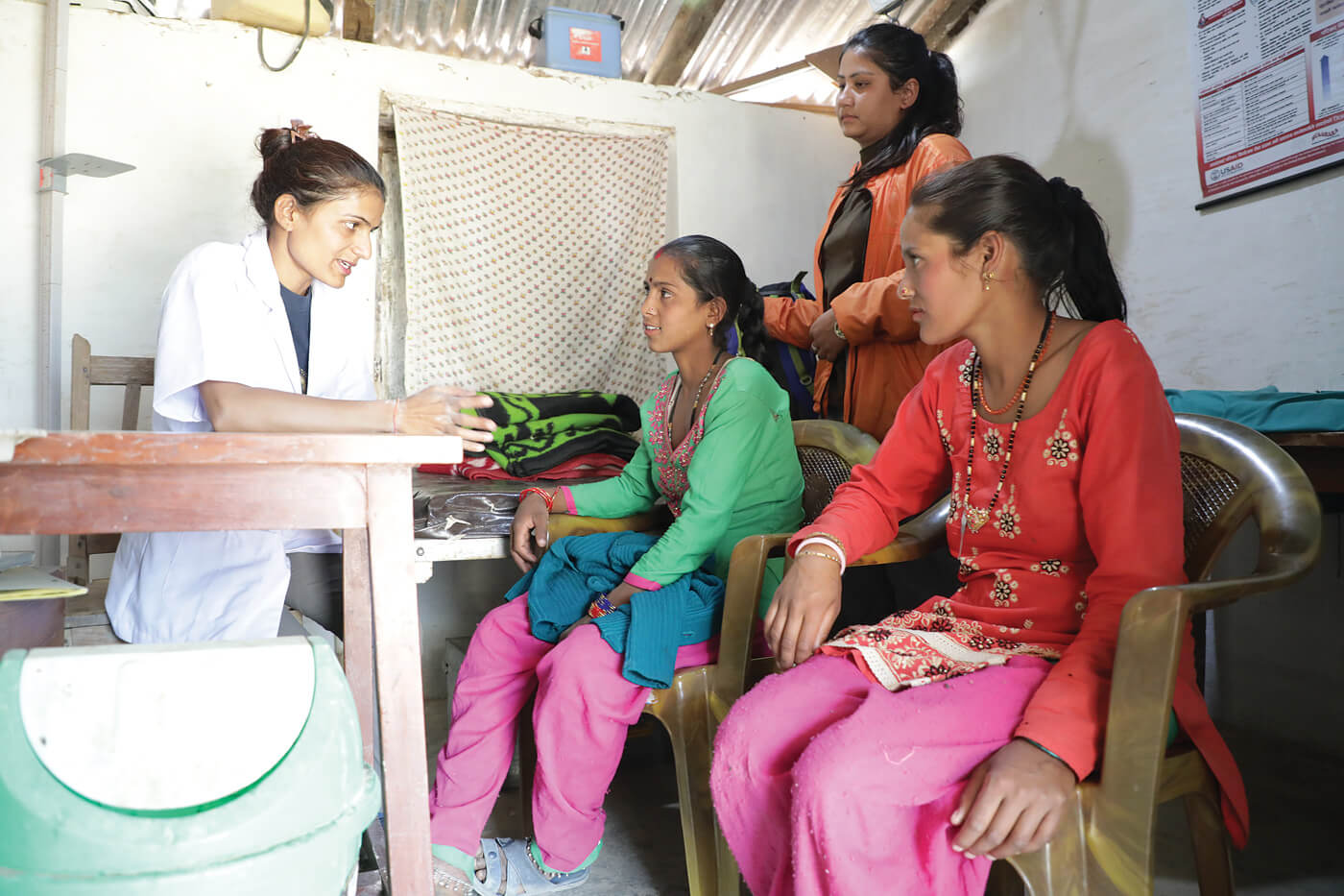 Implant service providers take contraception to Nepal's poor
