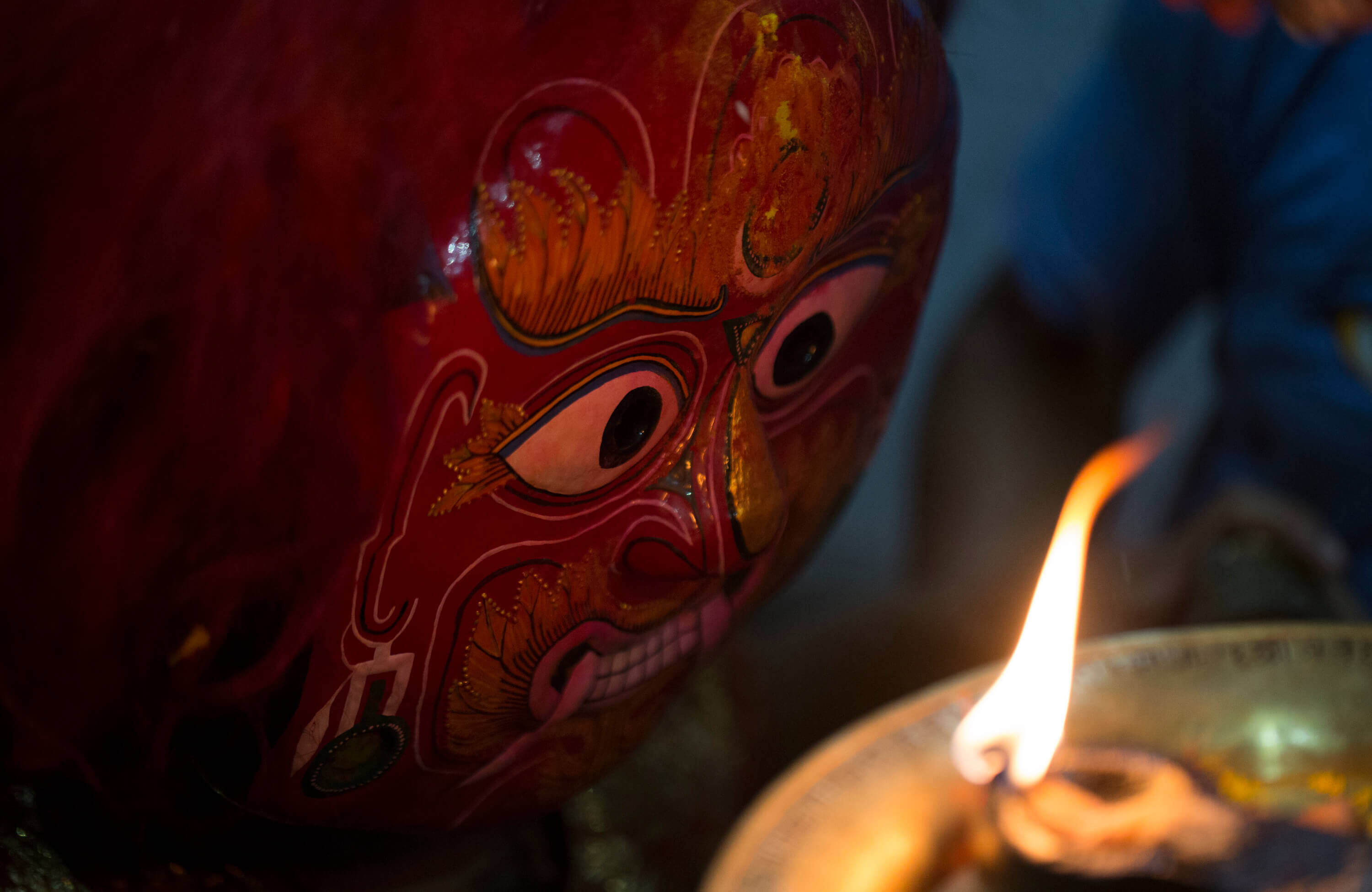 Getting behind the divine mask