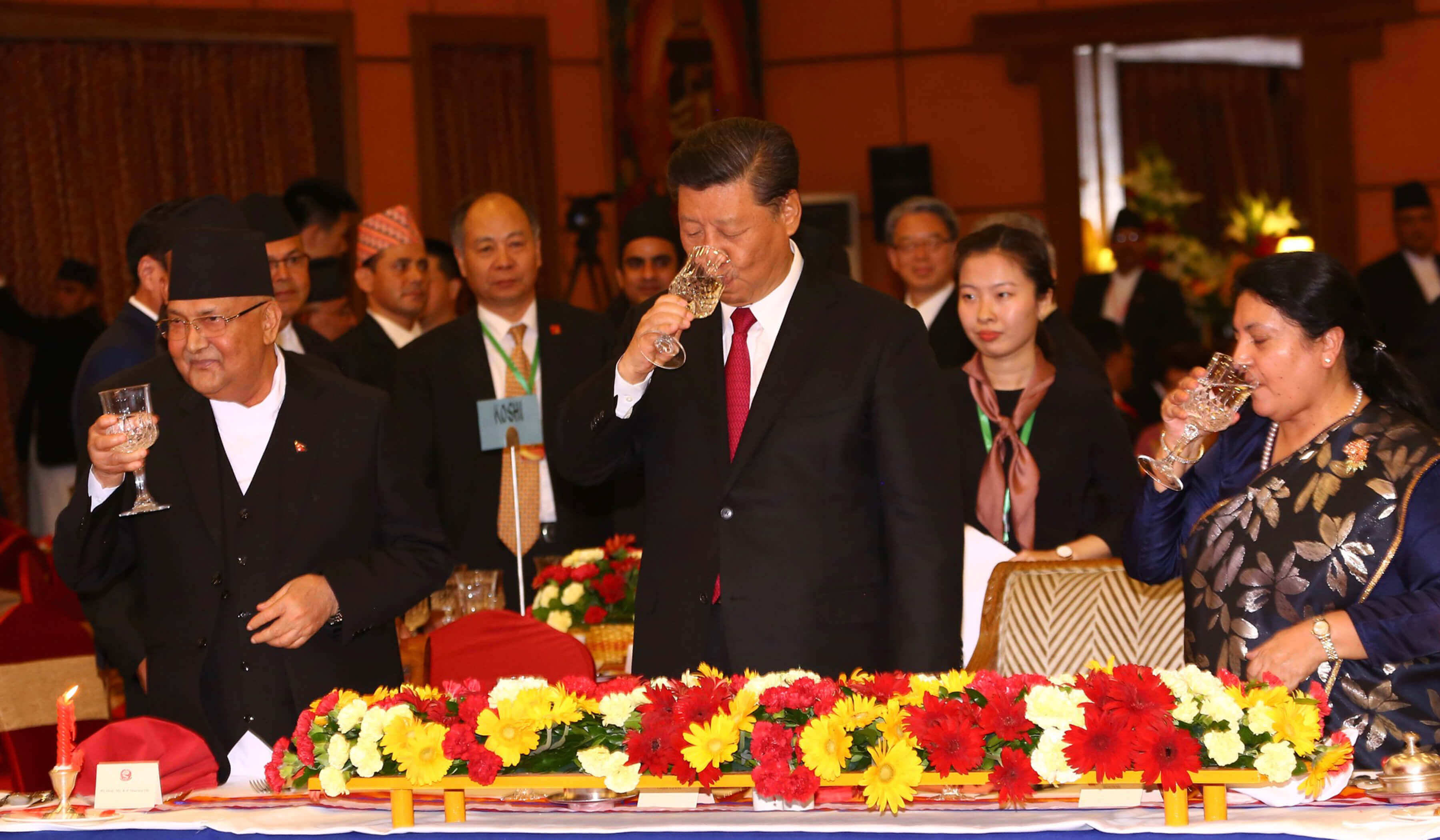Reception for Xi