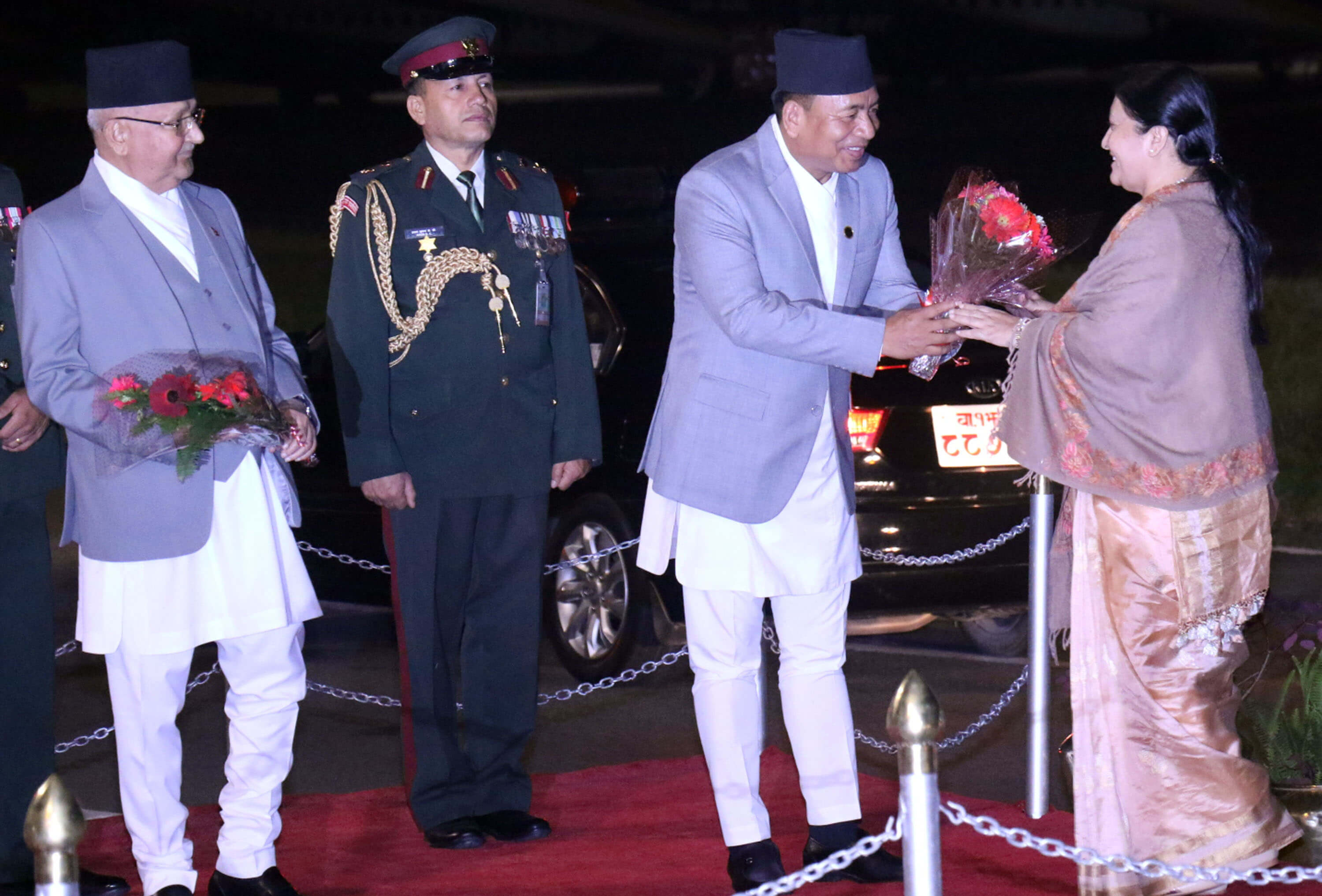 President returns from Burma and Japan