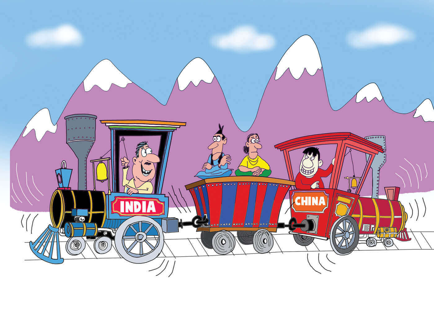 Political geography of India-Nepal-China ties