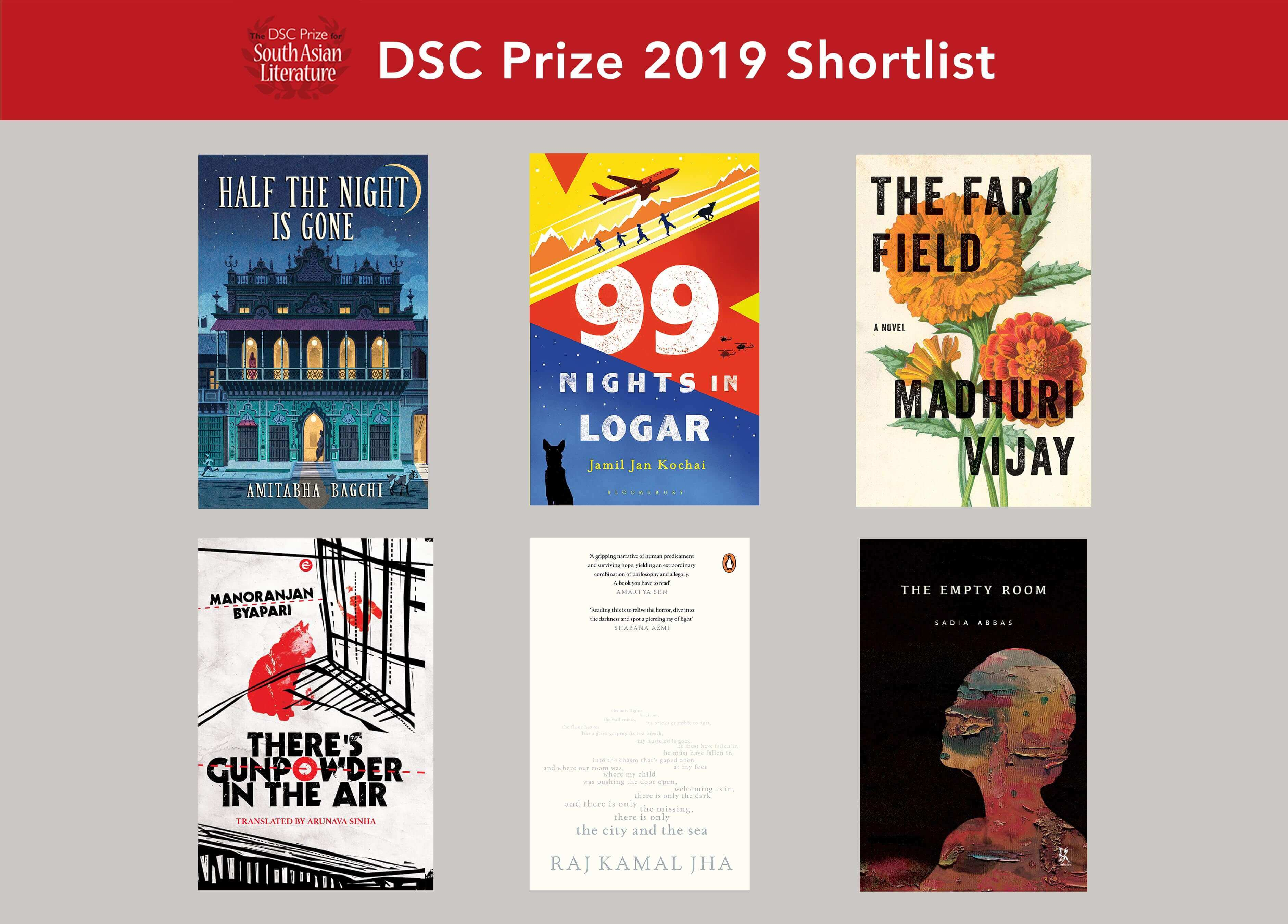 2019 shortlist announced for DSC Prize