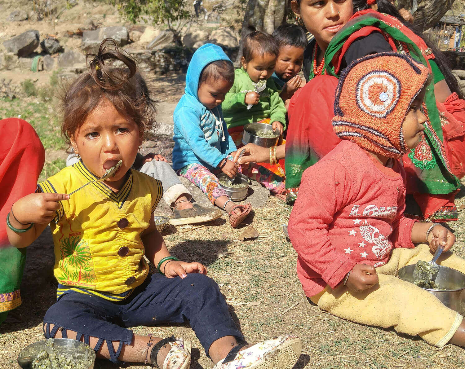 Nearly half of Nepali children still malnourished