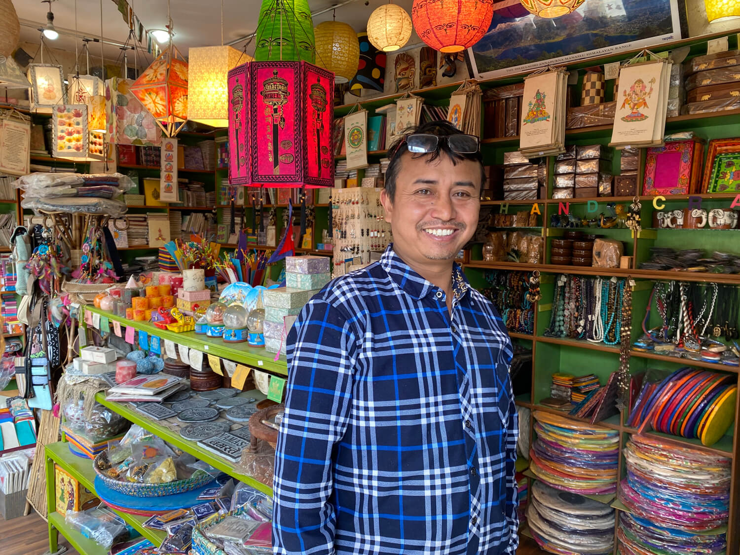 Staying in Nepal to create jobs