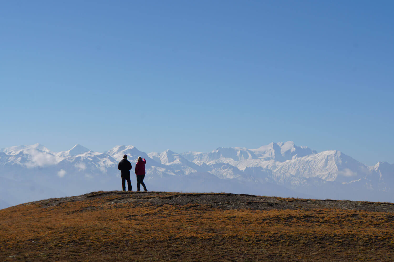 11-day trek is now a day's drive in Nepal