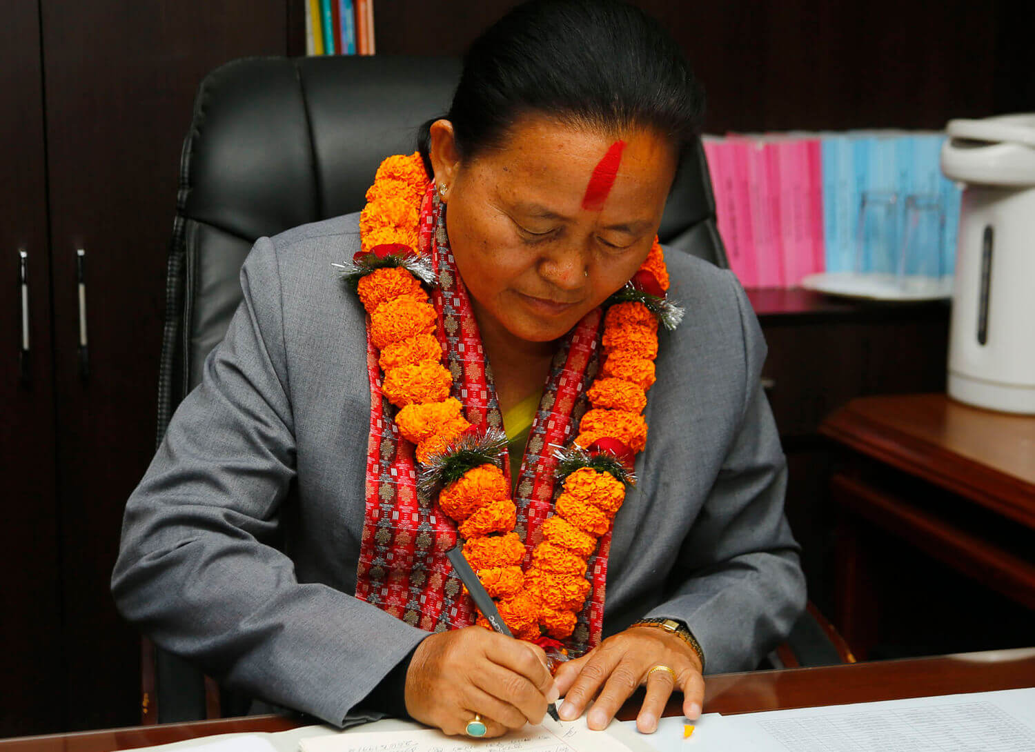 Tumbahangphe is new law minister