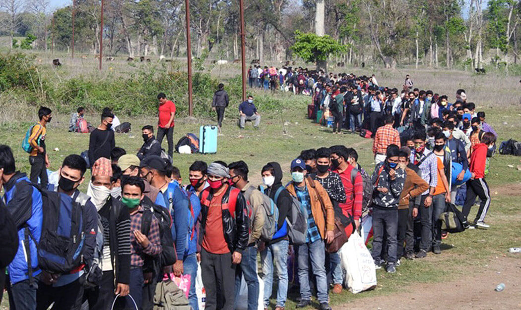 Returnees may be taking coronavirus to rural Nepal