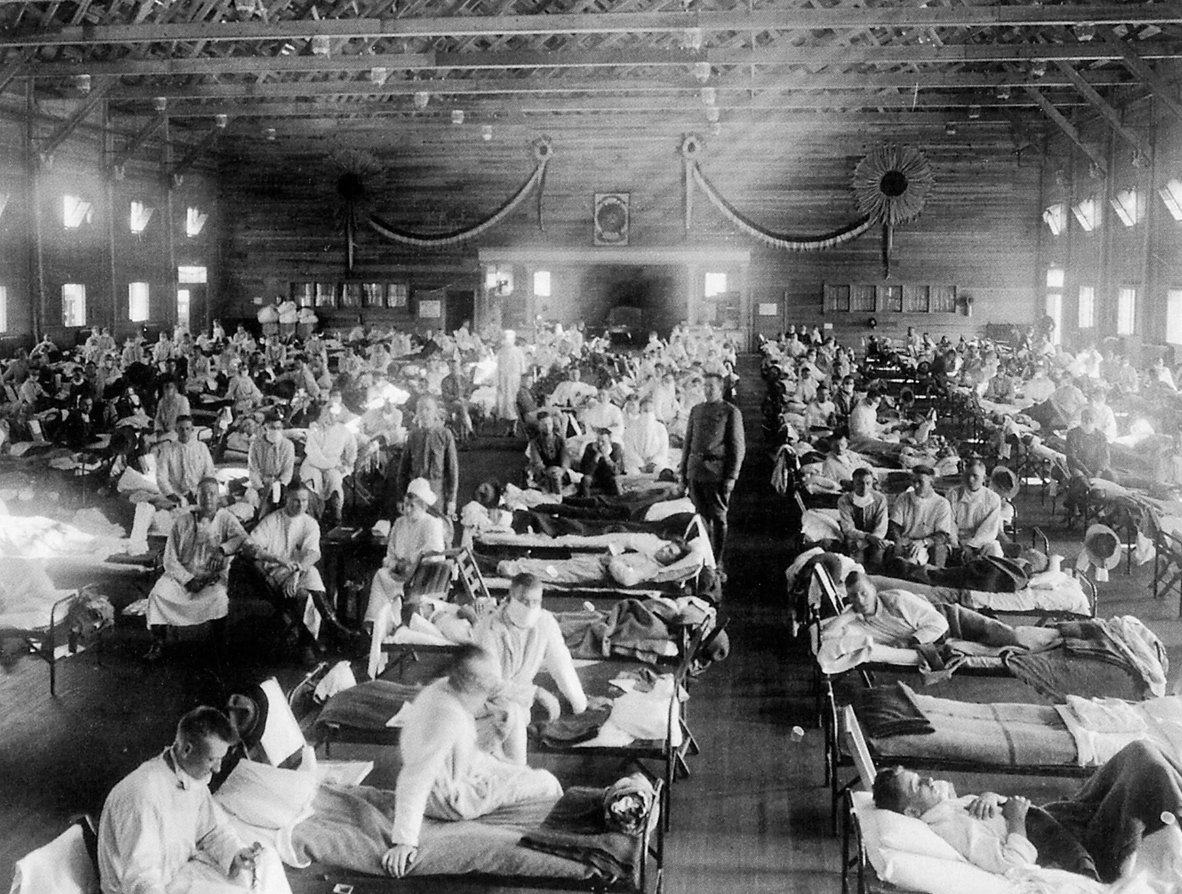 Remembering a pandemic 100 years ago