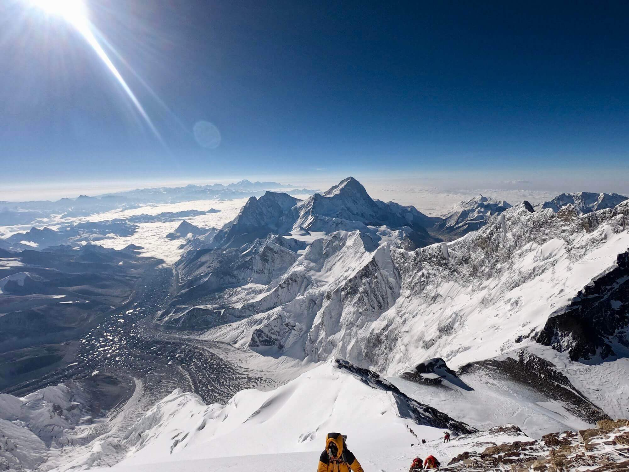 Mt Everest from both sides, now